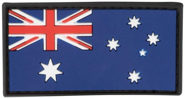 3D Rubber Patch Australien Bunt