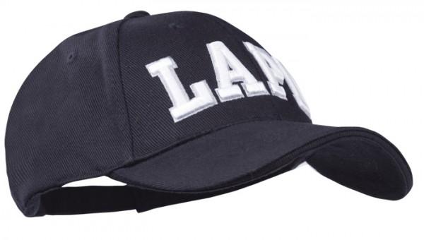Baseball Cap Schwarz 3-D LAPD