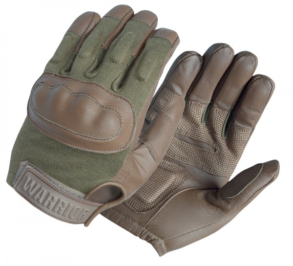 Handschuhe Warrior Enforcer Hard Knuckle Coyote