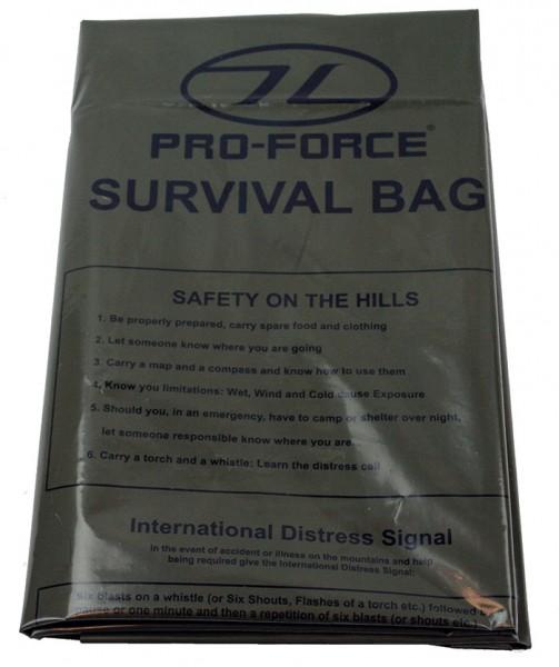 Highlander Survival Bivi Bag Notfallplane