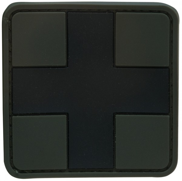 3D Rubber Patch First Aid Large