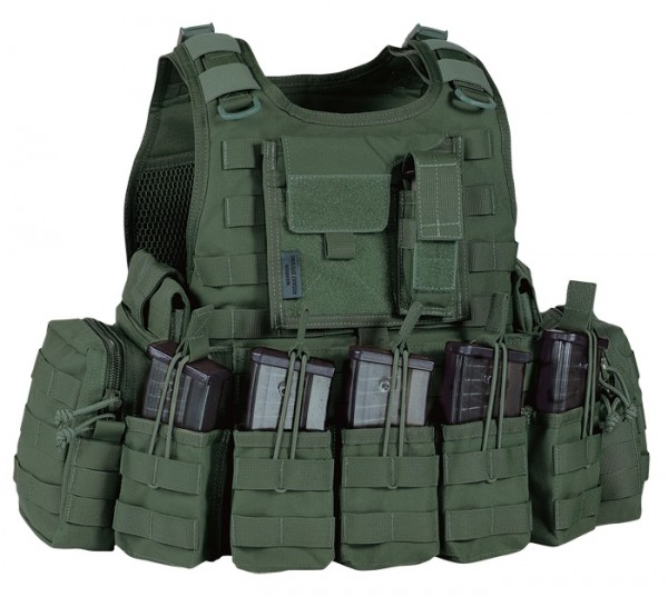 Warrior RICAS Compact G36 Plate Carrier Oliv