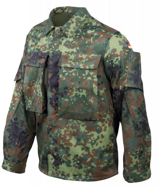 BW Einsatzkampfbluse KSK 5-Farben Flecktarn