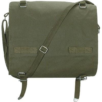 BW Packtasche Groß mit Gurt Oliv