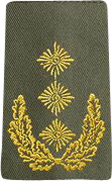 BW Rangschl. Generalleutnant Heer Oliv/Gold