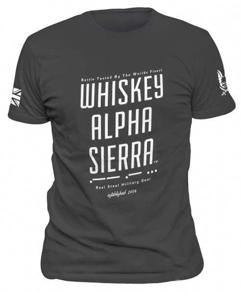 Whiskey Alpha Sierra T-Shirt