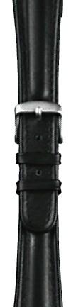 Traser H3 Uhrenarmband Leder 18 mm Schwarz