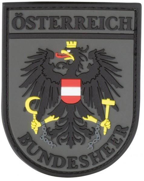 JTG Ärmelabzeichen Österreich Bundesheer Oliv - 3D Rubber Patch