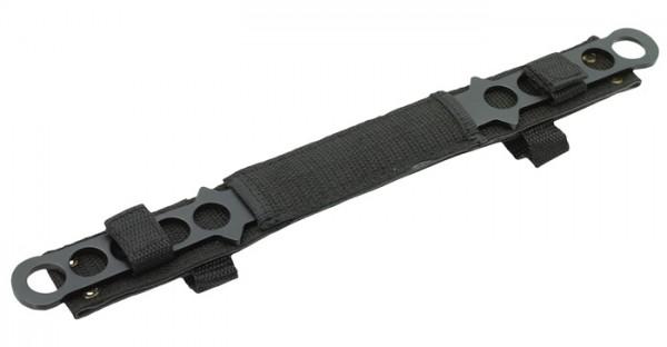 Haller Wurfmesser 2 teilig schwarz