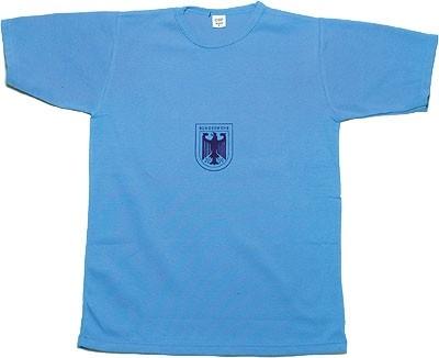 BW Sporthemd Blau Gebraucht