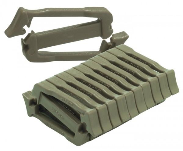 Duraflex Siamese Silk Clip 10er-Pack
