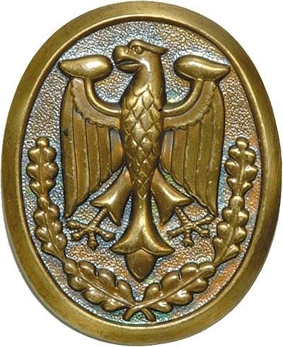 BW Schützenschnurplakette Bronze