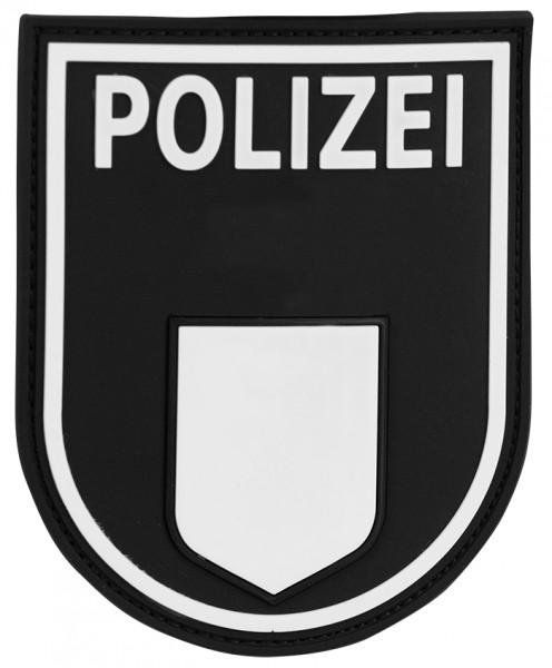 3D Ärmelabzeichen Polizei Berlin (Schwarz)