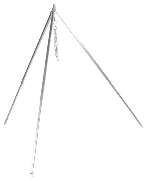 Dreibein Teleskop für Schwenkgrill und Gulaschkessel 1,6 m