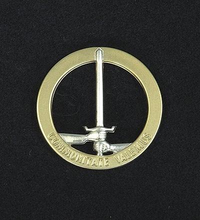 BW Barett Abzeichen D/NL-Korps Metall