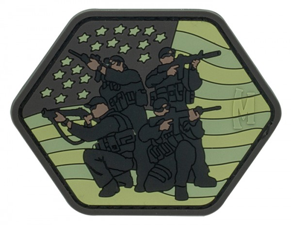 Maxpedition Rubber Patch TACTICAL TEAM Arid