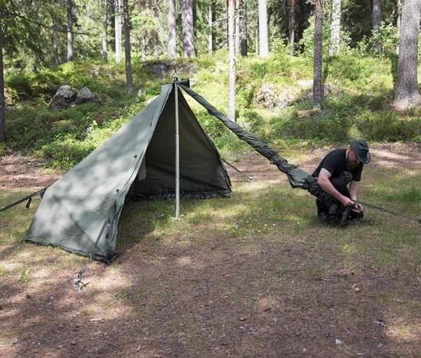 Savotta HAWU 4 Zelthälfte ohne Eingang (Rückteil)