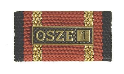 Bandschnalle Auslandseinsatz OSZE 1