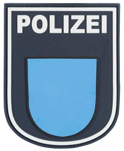 3D Ärmelabzeichen Polizei Hessen (Blau)