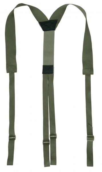 Warrior Slimline Harness Oliv
