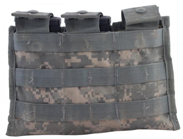 US MOLLE Magazintasche Triple M4 Gebraucht