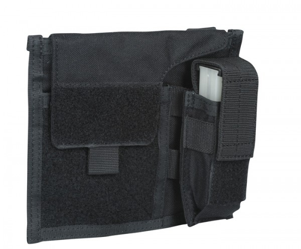 Warrior Large Admin Pouch Black