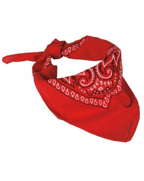 Westernhalstuch Rot 55 x 55 cm