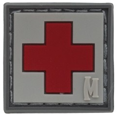 Maxpedition Rubber Patch MEDIC 25 x 25 Swat