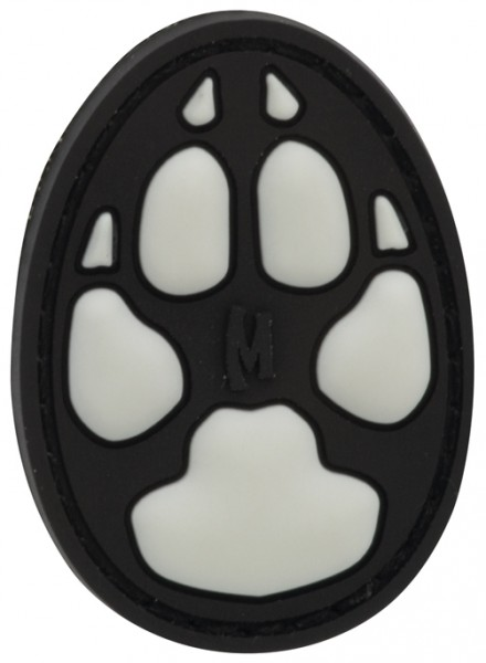 Maxpedition Rubber Patch DOG TRACK Glow
