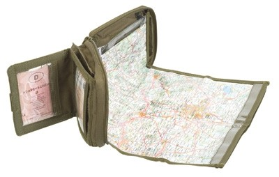 Condor Map Pouch Oliv
