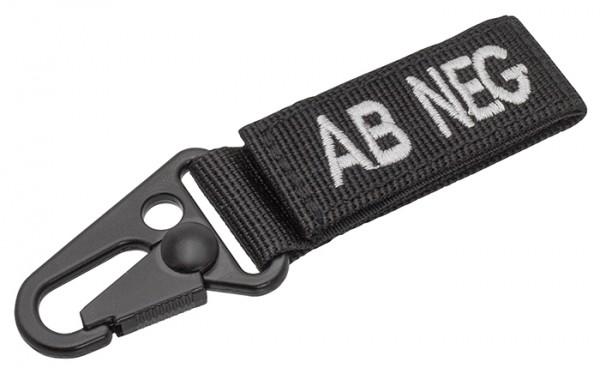 Tactical Keyholder Blood AB NEG 5er-Pack