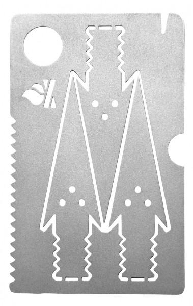 Bushcraft Essentials Survival Pfeilkarte