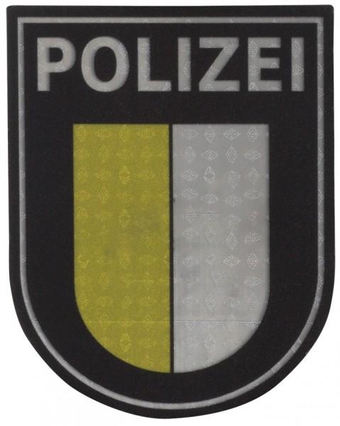 Ärmelabzeichen Polizei Mecklenburg-Vorpommern Reflektierend