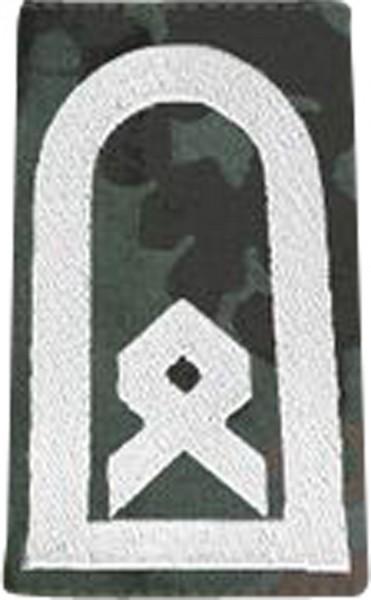 BW Rangschl. Hauptfeldwebel Tarn/Silber Klett