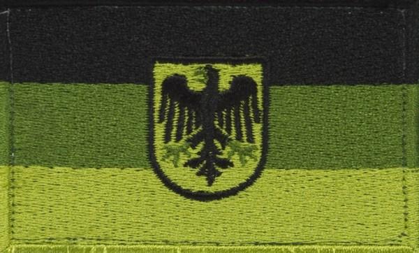 BW Hoheitsabzeichen Adler Oliv mit Klettband Groß