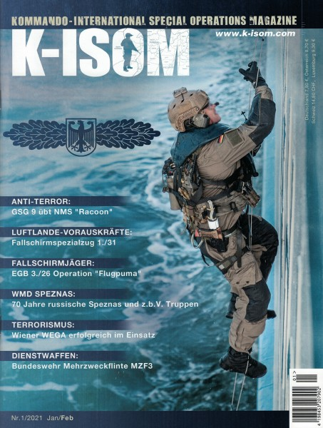 Kommando Magazin K-ISOM Ausgabe: 73 Nr. 1/2021