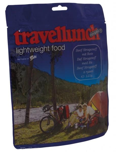Travellunch Beef Stroganoff mit Reis 125 g