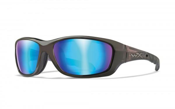 Wiley X Gravity Sonnenbrille Polarized Blue Mirror