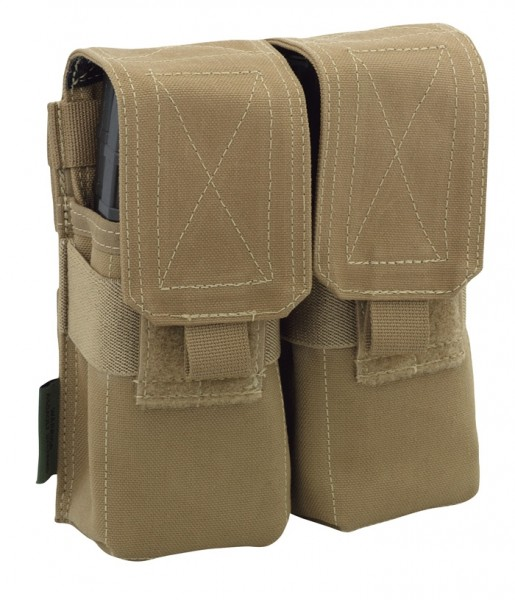 Warrior Double M4 Mag Pouch Coyote