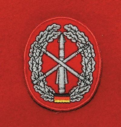 Barett Abzeichen Heeresflugabwehr Textil