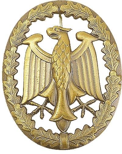 BW Leistungsabzeichen - Metall- Gold