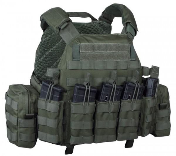 Warrior DCS DA M4 5.56mm Plate Carrier Olive Drab