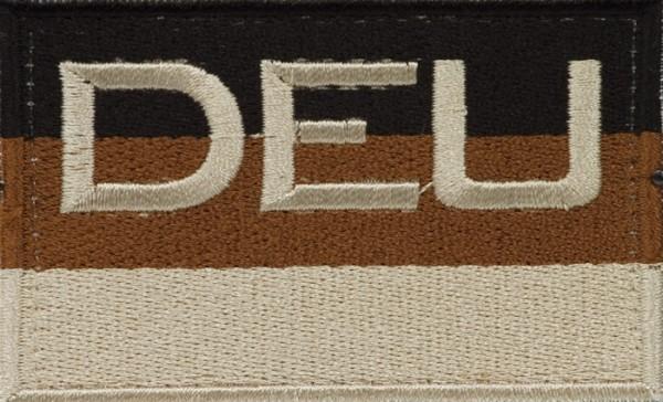 BW Hoheitsabzeichen DEU Sand mit Klettband - Groß