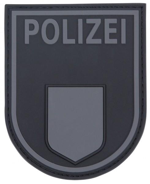 3D Ärmelabzeichen Polizei Berlin (Blackops)