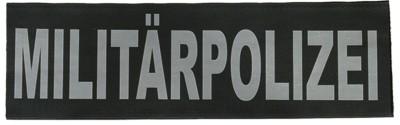 Reflektierender Schriftzug Klein Militärpolizei