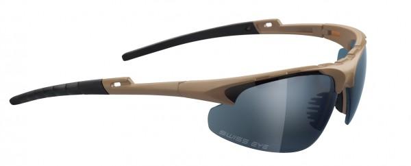SwissEye Tactical Brille Apache Braun