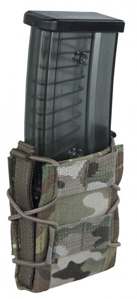 Warrior 5.56 mm Single Quick Mag. Tasche Multicam