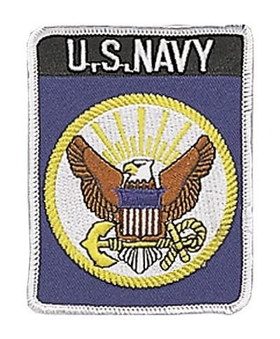 US Textilabzeichen Navy