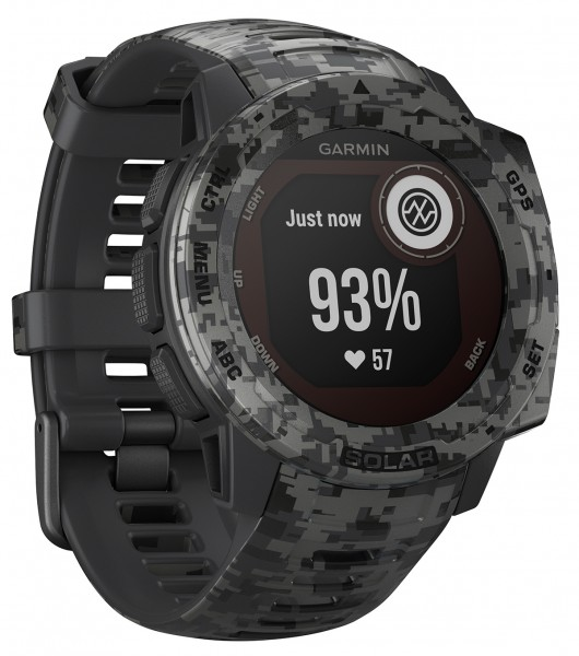 Garmin Instinct Solar Camo GPS Smartwatch