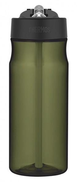 Thermos Trinkflasche Tritan mit Strohalm 0,53 L